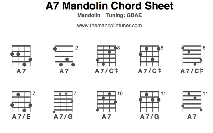 Mandolin chords em
