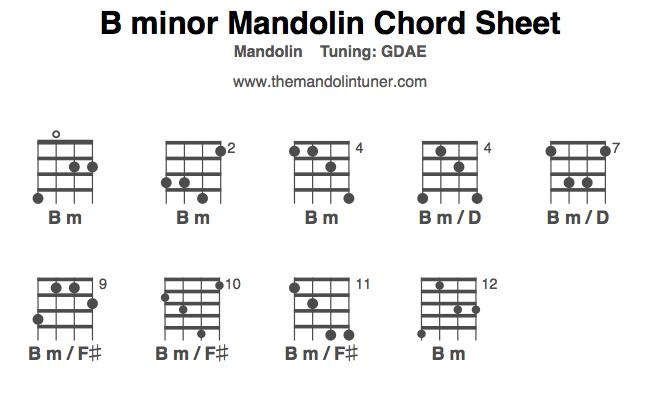 Mandolin chords hallelujah