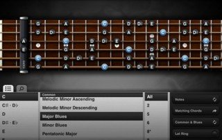 Guitar toolkit on iPad