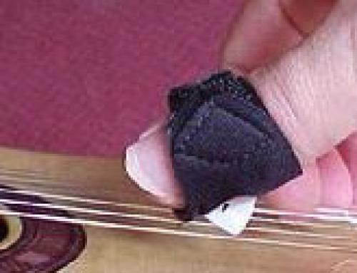 Mandolin Picks suitable for injured hands