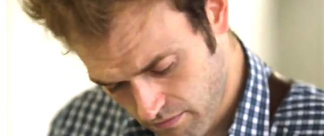 Chris Thile Playing Partita No.1 BWV 1002 from J.S. Bach