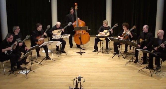 New Amwrican Mandolin Ensemble Yutuma