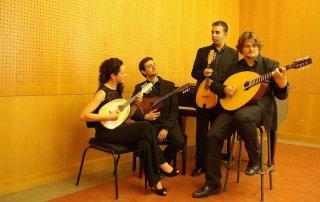 karmen mandolin quartet studio