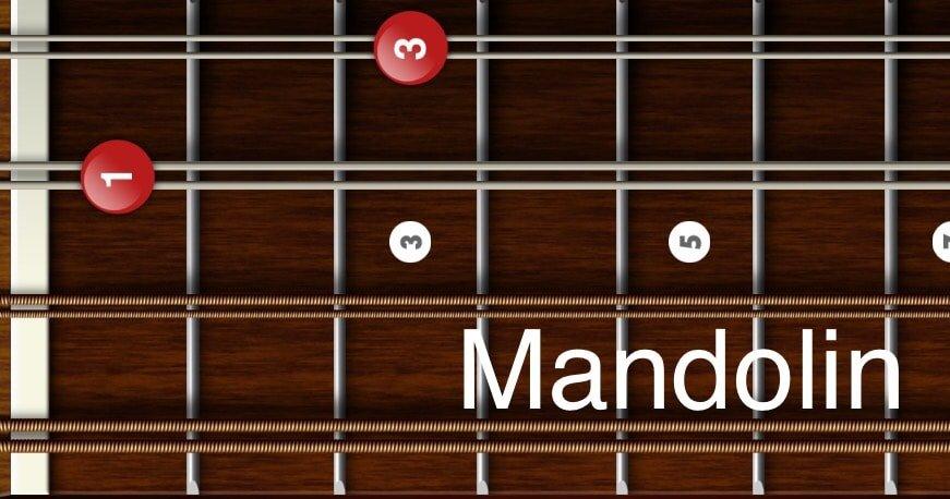 G minor chords mandolin