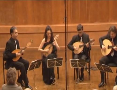 Vivaldi Concerto for Four Violins by Kerman Mandolin Quartet – TV136