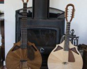 Two trips banjola and mandolin