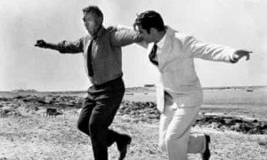 Shelf life ... Anthony Quinn and Alan Bates in the 1964 film adaptation of Zorba the Greek. Photograph: SNAP/Rex Features